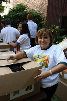 "Henry Schein helped more than 2,400 children in 21 U.S. and Canadian cities return to the classroom well-dressed and well-prepared as part of the Company's 15th annual ""Back to School"" program."