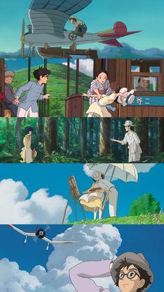 The Wind Rises - Ghibli - Jiro and Naoko - Wallpaper
