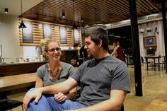 Foolish Things Coffee Co., 1001 S. Main St. Owners Katie and Justin Carpenter