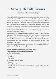 Antonio Floris - Chitarrista : Bill Evans // Storia