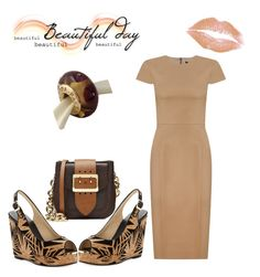 """""""Untitled #404"""" by kimberlydalessandro ❤ liked on Polyvore featuring Jimmy Choo, Andrea Marques, Burberry and Pandora"""