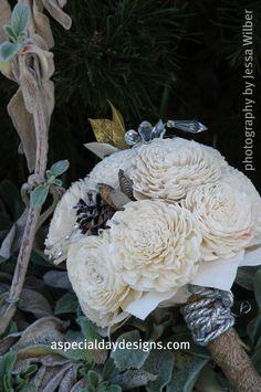 Balsa wood bouquet