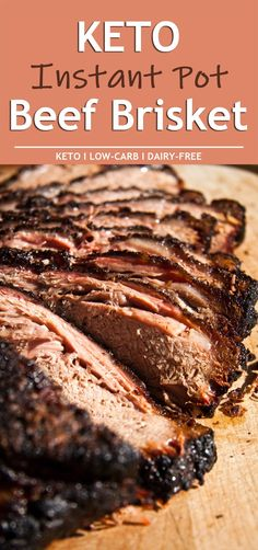 Diet Recipes Coffee Break:Keto Diet Recipes Archives - Coffee Break - Keto Instant Pot Beef Brisket recipe requires just 10 minutes of active work, and tastes like you have been cooking all day. No one will care that the. Keto Foods, Keto Snacks, Instant Pot Beef Brisket Recipe, Beef Brisket Crock Pot, Low Carb Recipes, Crockpot Recipes, Easter Keto Recipes, Healthy Recipes, Vegetarian Recipes