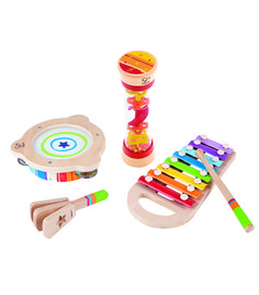 Toddler Beat Box Set From Hape from The Wooden Toybox