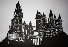 Hogwarts silhouette