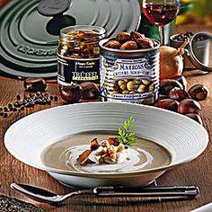 Maronen-Trüffel-Suppe
