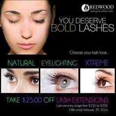 64 eyelash extension advertising ideas