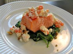 Bruchetta Recipe, Yummy Food, Tasty, Fish Dishes, Fish Recipes, Nom Nom, Low Carb, Sweets, Meat