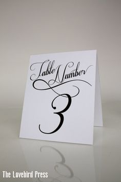 QTY 20 Table Number Tent Cards | lissy table and place cards | Pinterest | Table numbers Place cards and Wedding & QTY 20 Table Number Tent Cards | lissy table and place cards ...