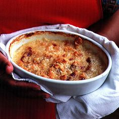 This Southern specialty marries briny oysters with saltines and butter for a simple, succulent gratin. Shellfish Recipes, Seafood Recipes, Cooking Recipes, Seafood Meals, Seafood Appetizers, Tempura, Seafood Dishes, Fish And Seafood, Sashimi