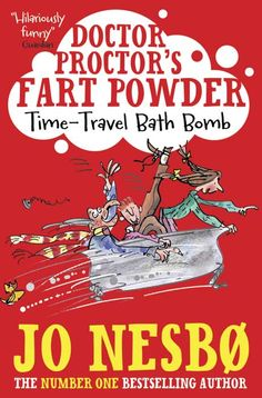 NB Illustration artist Mark Beech created this front cover for Jo Nesbo's Doctor Proctor's Fart Powder #doctorproctorsfartpowder To see more of Mark's work please visit www.nbillustration.co.uk