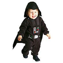 Kinder-Kostüm Darth Vader, Gr. 6-12 Monate - Superhelden - Star-Wars Kostüme Kinder Kostüme - WOOOOZY