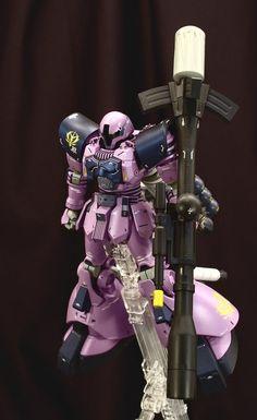 """1/144 EMS-10/Ks Zudah """"Kugelschreiber"""" - Custom Build - Gundam Kits Collection News and Reviews"""