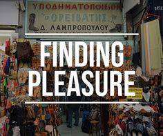 Finding Pleasure με την Κατερίνα - Ορειβάτης http://ift.tt/1StVYNr  #edityourlifemag