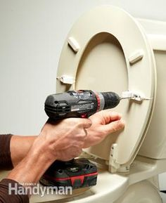 Tighten a loose or wiggly toilet seat with inexpensive rubber bushings and seat stabilizers. It's a 15-minute fix that'll last for years.