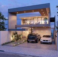 Living haus The Indisputable Truth About Minimalist Houses Design That Nobody Is Telling You 101 Modern House Facades, Modern House Plans, Modern Architecture, Minimalist House Design, Minimalist Home, Modern House Design, Bungalow House Design, House Front Design, Living Haus