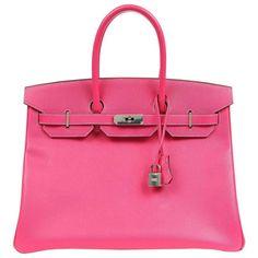 Hermès Rose Tyrien Epsom Leather 35 cm Birkin Bag with PHW 1