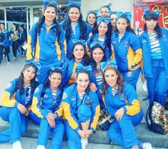 I love my friends Cheerleders Tigres Uanl National 2012
