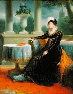 ca. 1808 Catherine Wurttemberg by Louis François Aubry