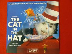The Cat in the Hat CD mint Film Soundtrack OOP David Newman Mike Myers Dr. Seuss
