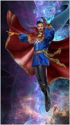 Doctor Strange by John Gallagher (Marvel comics) Marvel Comic Character, Comic Book Characters, Marvel Characters, Comic Book Heroes, Comic Books Art, Comic Art, Films Marvel, Hq Marvel, Marvel Comics Art