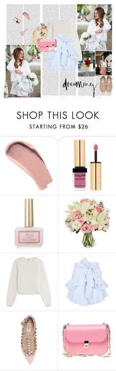 """""""Happy Birthday Mars!"""" by rikka-alicia ❤ liked on Polyvore featuring Oris, Burberry, Yves Saint Laurent, Ciaté, See by Chloé, Topshop, Valentino, Vichy, Prada and Salvatore Ferragamo"""