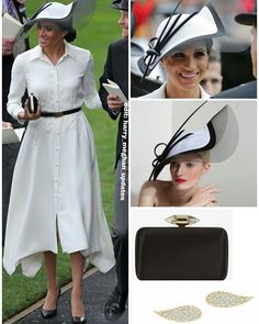 Meghan's Royal look today. Dress and clutch by Givenchy, hat by Philip Treacy, earrings by Birks. Givenchy is Meghan's go-to stylist now for special events. It looks like it... via ✨ @padgram ✨(http://dl.padgram.com)
