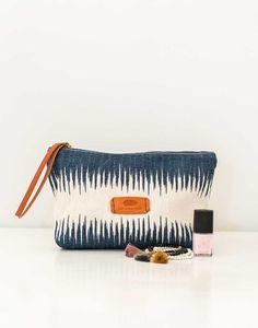 Fair Trade Ikat Cosmetic Bag   The Little Market