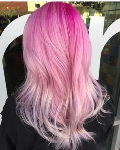 Happy National Pink Day Hair by @hairbyhannahdisconnected http://www.qunel.com/ fashion street style beauty makeup hair men style womenswear shoes jacket