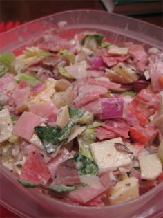 Hoagie Dip - delicious! tastes just like a fresh hoagie from your local sub shop - SUPERBOWL