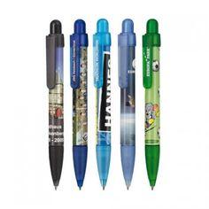 """Kugelschreiber """"Soft Booster Transparent Foil 360 Bestellen unter    http://meine-werbeartikel.com"""
