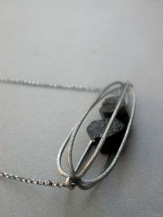 cage pod container rattle necklace