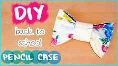 Hi guys!! I've been requested in my past videos to make a DIY pencil case, so in today's video I will show you how to make this cute bow pencil pouch. It is ...