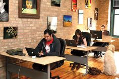 The net and a desk -- Is 'coworking' the office of the future?