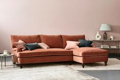 Florence Corner Sofa with Chaise - Right Hand Facing
