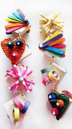Balsa wood toys