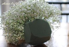 Dear Lillie: Baby's Breath Pom Tutorial (And What NOT To Do)