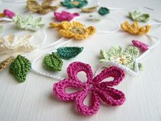 Flower Power Pinspiration! . ☀CQ #crochet #crochetflowers
