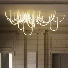 linea di sezione: Les Cordes chandelier