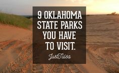 Oklahoma has excellent state parks. Here are 9 Oklahoma State Parks that any Tulsan with a taste for the outdoors should visit! Oklahoma Musical, Tulsa Oklahoma, Travel Oklahoma, Oklahoma Sooners, Oklahoma City Things To Do, Oklahoma Attractions, Alabama, Wisconsin, Minnesota