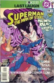 Superman The Man of Steel (119) Joker Last Laugh: MARK SCHULTZ: Amazon.com: Books