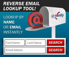 search for email and reverse email search site Work Search, Name Search, Email Address Search, Tenant Screening, Records Search, Check Email, Social Web, Public Records
