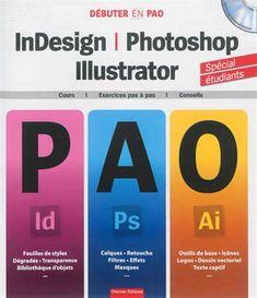 Renaud-Bray: Destiné aux étudiants, ce guide donne toutes les connaissances nécessaires pour se familiariser avec l'univers du graphisme ainsi que trois logiciels de PAO : règles de la mise en page, créer un gabarit, le rôle des couleurs, le dessin vectoriel...