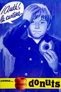 Donuts, so good. Vintage Advertisements, Vintage Ads, Vintage Posters, Nostalgia, Curious Cat, Old Magazines, Old Ads, Retro Art, Tv Commercials