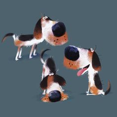 If you're looking for a charity to donate to consider helping out @beaglefreedom it's an LA based organization to help stop these guys from being tested on, because everyone loves beagles :) #beagle #beagles #beaglesofinstagram #characterdesign #illustration #beaglefreedomproject #beaglelife #dog
