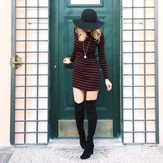 STUART WEITZMAN | Loving the look. #ootd #inourshoes. #ariannasdaily STUART WEITZMAN | #middleeasternfashionista shows off her boot smarts in the eternally elegant over-the-knee. #inourshoes #HIJACK Shoes. Boots. Over-the-knee. OTK. Heels. Fall. FW14. Fashion. Style. Shoefie. Shoe porn. SHOP NOW: http://sweitzman.com/HIJACK-FW14