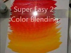 Acrylic Blending Technique - YouTube