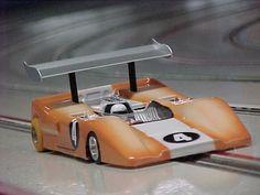 Slot Car Race Track, Slot Car Racing, Slot Car Tracks, Slot Cars, Pedal Cars, Race Cars, Old School Muscle Cars, Factory Design, Go Kart