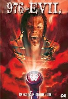 976-EVIL is a 1988 horror film directed by Robert Englund.[1][2]  The film's title refers to the 976 telephone exchange, a now mostly defunct premium-rate telephone number system that was popular in the late 1980s, but has since been superseded by area code 900.  http://en.wikipedia.org/wiki/976-EVIL