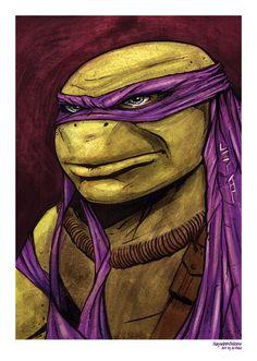 Donatello Teenage Mutant Ninja Turtle Print